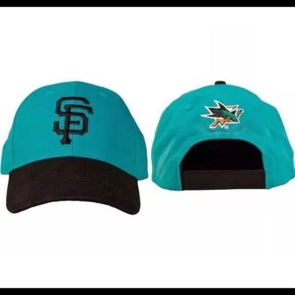 54005029fe1083 Accessories | San Francisco Giants San Jose Sharks Hat Mlb Nhl ...